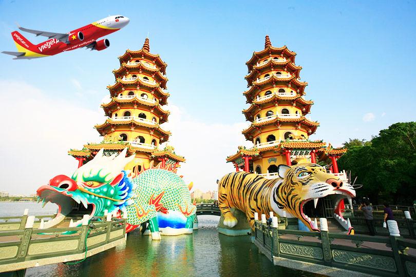 Hành trình mới TP. Hồ Chí Minh -  Cao Hùng với giá SIÊU TIẾT KIỆM
