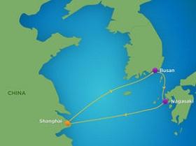 Tour du thuyền 5 sao đi Trung - Nhật - Hàn