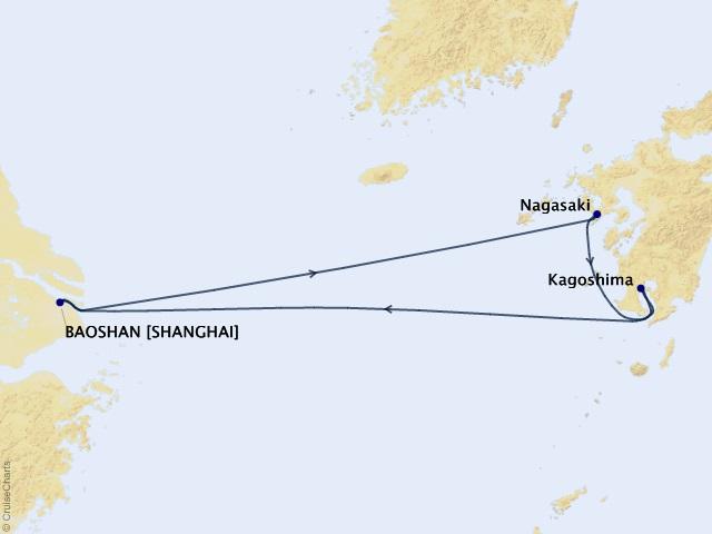 Khám phá Trung - Nhật bằng tàu Spectrum of the Seas