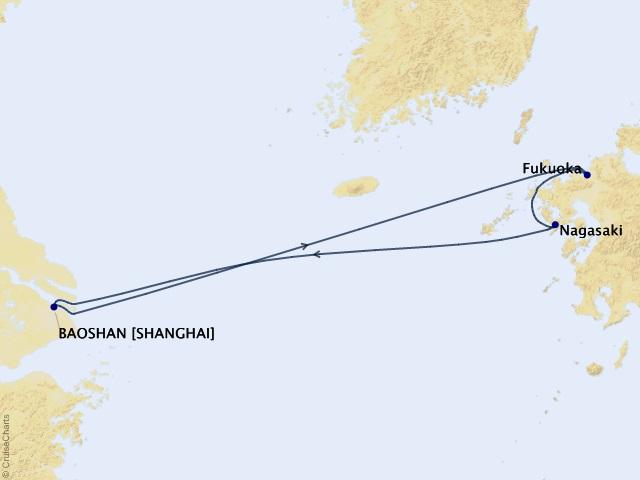 Tận hưởng tiết trời tháng 4 Nhật Bản cùng Du thuyền Spectrum of the seas