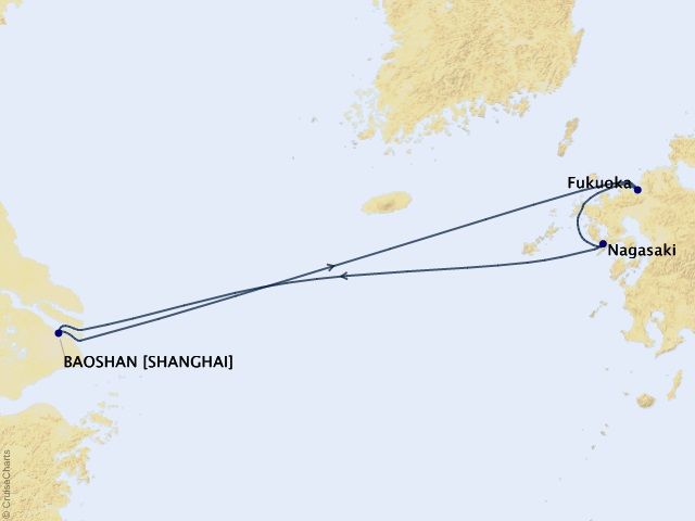 Cùng Du thuyền Spectrum of the Seas khám phá Thượng Hải - Nagasaki - Fukuoka