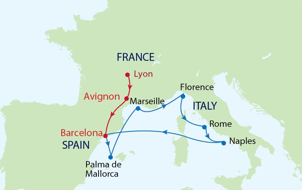 Chiêm ngưỡng những kiệt tác kiến trúc Châu Âu nổi tiếng cùng du thuyền Allure of the Seas