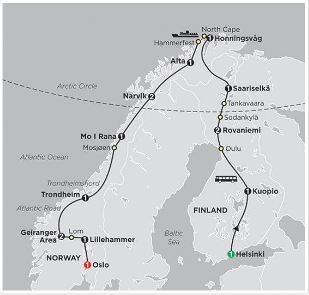 Ngắm nhìn Cực Quang - Kiệt tác nghệ thuật vùng Đông Âu