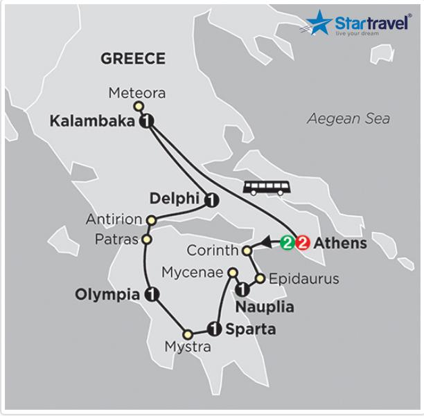 Hy Lạp - Vùng đất của các vị thần
