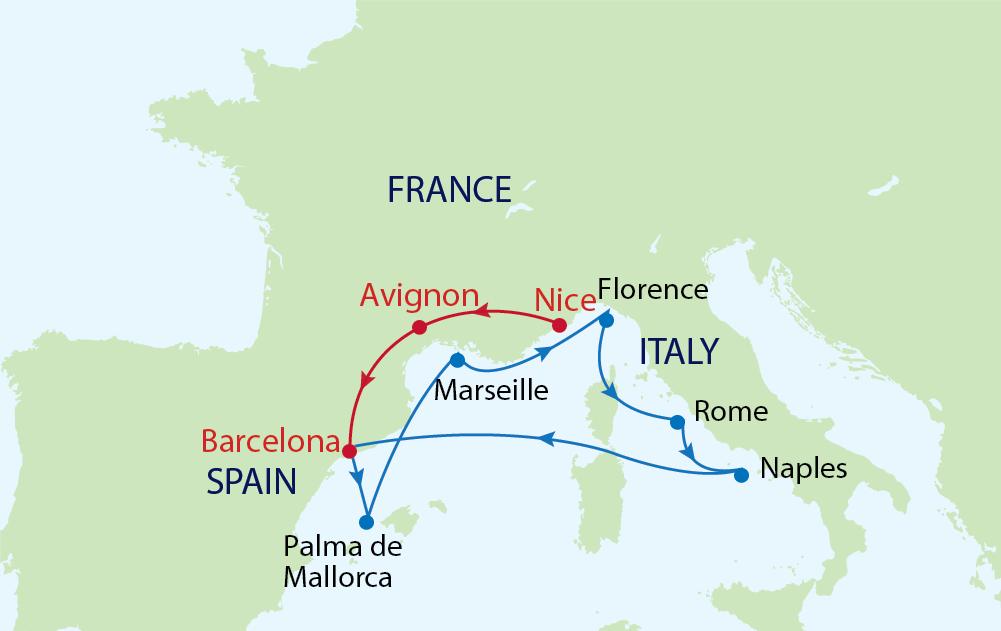 Ước nguyện ở Đài phun nước Trevi Fountain trong hải trình khám phá Châu Âu của du thuyền Allure of the Seas