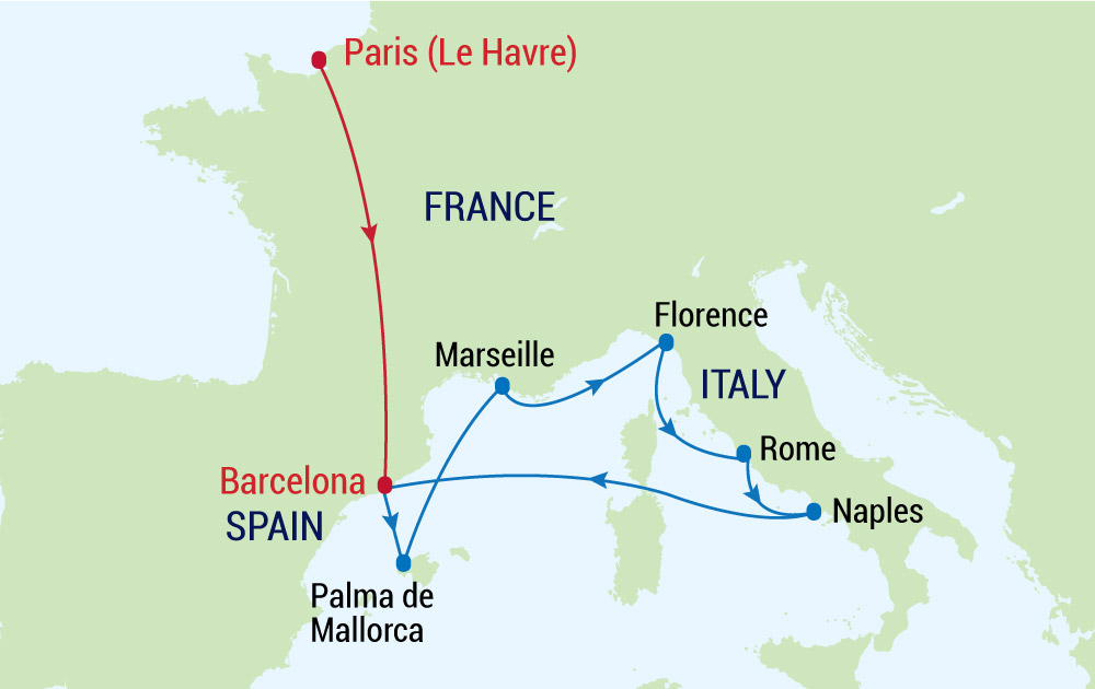 Tham quan Tháp Eiffel - Niềm tự hào của nước Pháp cùng du thuyền Allure of the Seas