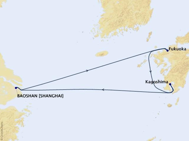 Nhật Bản - Thượng Hải [ Du lịch hè cùng Siêu du thuyền lớn nhất thế giới Spectrum of the Seas ]