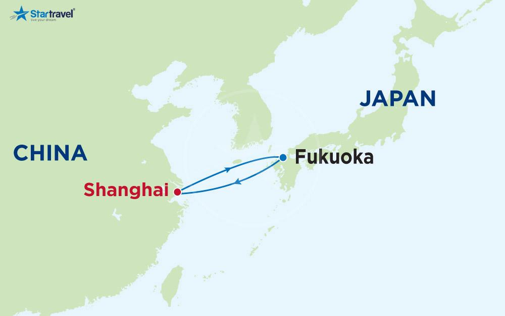 Cùng Du thuyền 5 sao trải nghiệm Trung Quốc - Nhật Bản