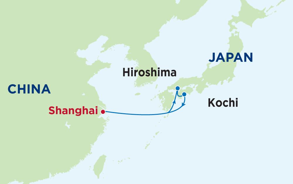 Khám phá hải trình Trung Quốc - Nhật Bản với du thuyền Quantum of the Seas