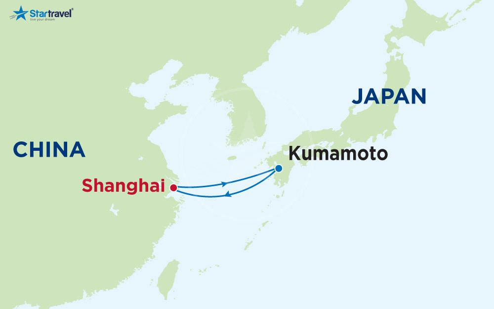 Trải nghiệm Du thuyền 5 sao với hải trình Trung Quốc - Nhật Bản