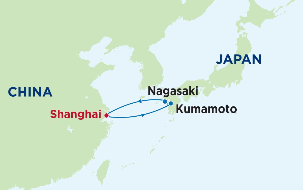 Cùng Mariner of The Seas khám phá Trung Quốc - Nhật Bản