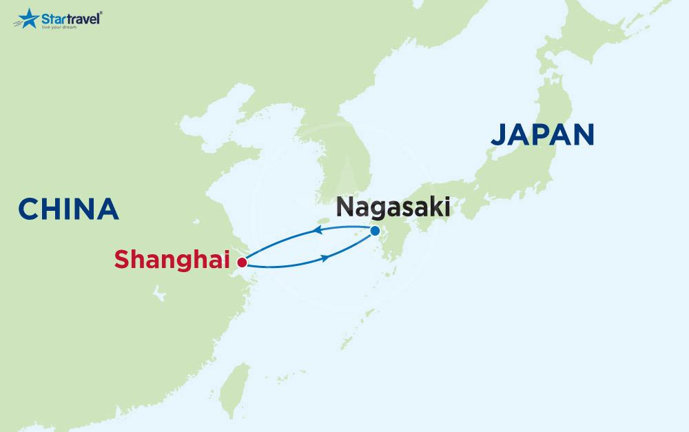 Khám phá Trung Quốc - Nhật Bản bằng du thuyền 5 sao
