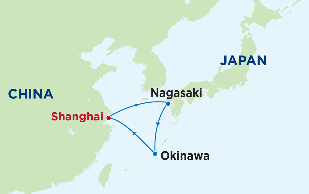 Khám phá Trung Quốc - Nhật Bản cùng du thuyền 5 sao