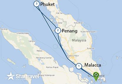 Khám phá đại dương Singapore - Malaysia - Thái Lan cùng du thuyền 5 sao