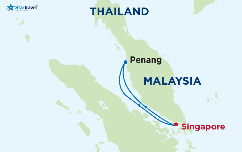 Du thuyền Voyager of the Seas khám phá Singapore - Malaysia