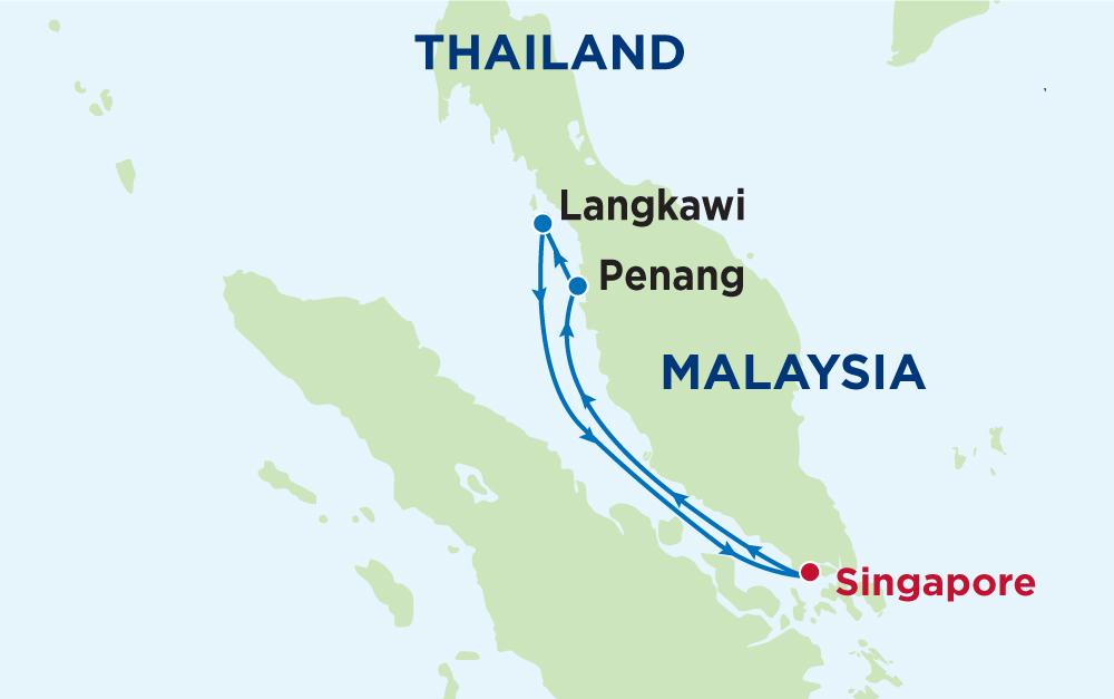 Cùng du thuyền Mariner of the Seas khám phá hải trình Singapore - Malaysia