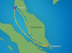 Khám phá Singapore - Phuket bằng du thuyền 5 sao