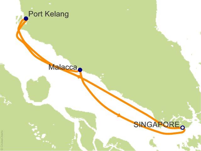 Du thuyền 5 sao khám khá Singapore - Malaysia