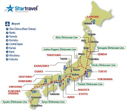 Khám phá Nhật Bản - Nồng nàn sắc thu - hoa anh đào tinh khôi