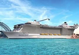 Tour du thuyền 5 sao Ovation of the Seas Singapore - Thái Lan 5 ngày HN