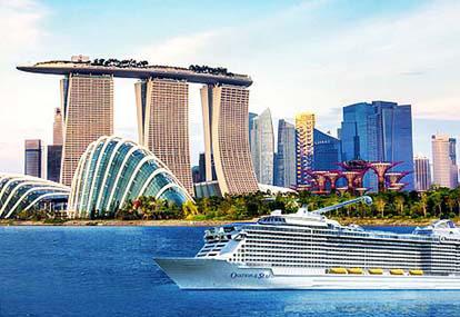 Tour du thuyền Ovation of the Seas khám phá hải trình Singapore - Malaysia - Thái Lan