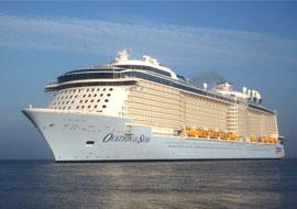 Tour du thuyền Ovation of the Seas khám phá hải trình Singapore - Malaysia - Thái Lan 6 ngày