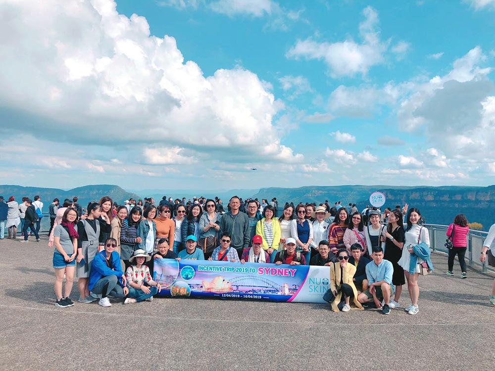 Đoàn khách tham quan Sydney - Úc 12/04/2019