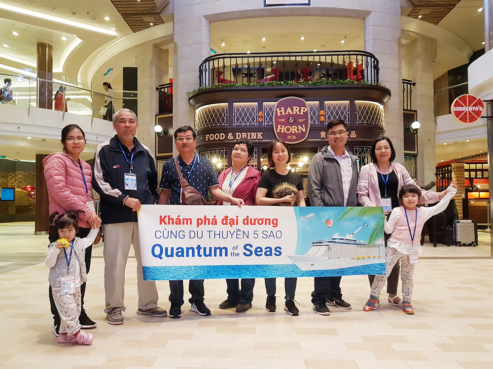 Đoàn khách tham quan Thượng Hải - Nhật Bản 21/04/2019