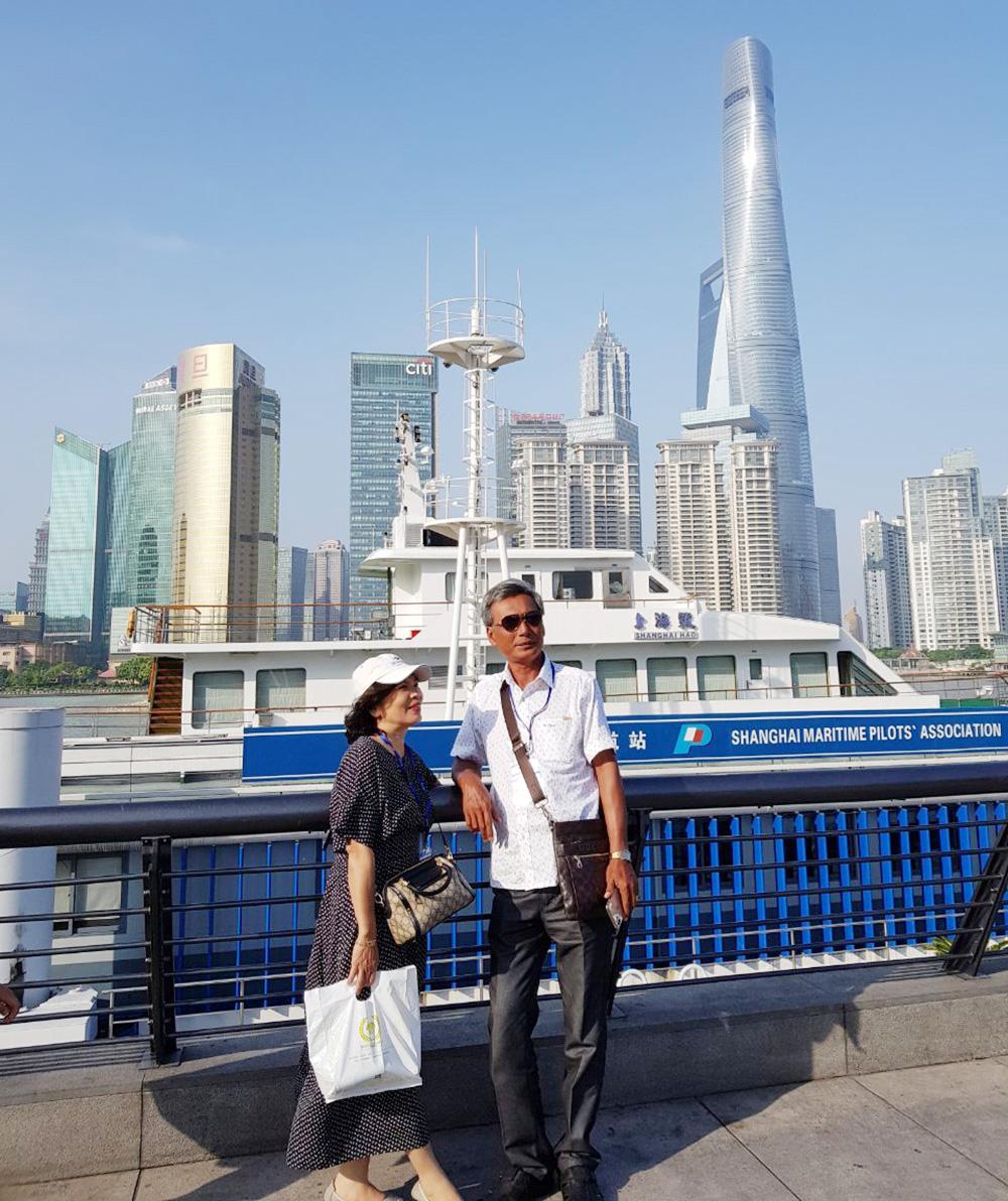 Đoàn khách tham quan Thượng Hải - Nhật Bản 06/06/2019