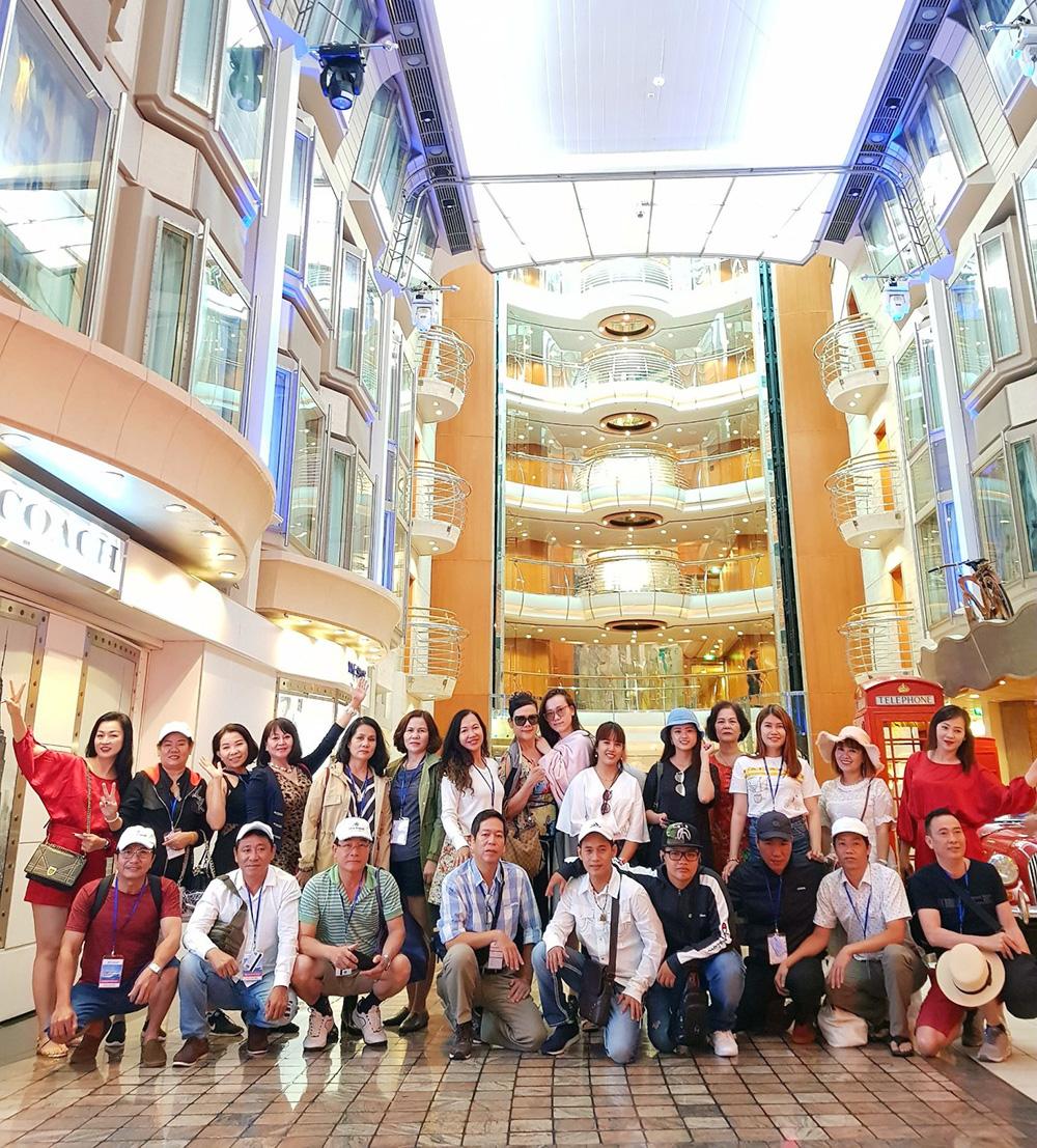 Đoàn khách tham quan Singapore - Malaysia - Thái Lan ngày 04/03/2019