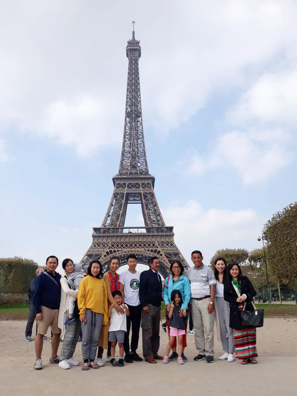 Đoàn khách tham quan Pháp - Ý - Tây Ban Nha 30/09/2018