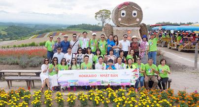 Đoàn Herbalife tham quan Hokkaido