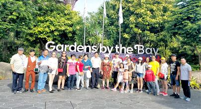 Đoàn khách tham quan Singapore - Kuala Lumpur 16/03/2018