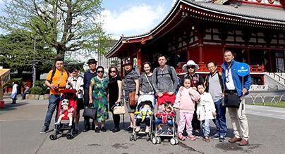 Đoàn khách trải nghiệm Hoa Anh Đào ở Tokyo - Osaka 03/04/2018