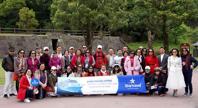 Đoàn khách tham quan Shanghai - Kumamoto 05/04/2018