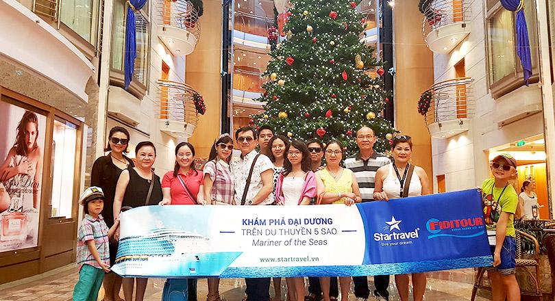 Đoàn khách trải nghiệm Singapore - Malaysia - Thái Lan 23/12/2017