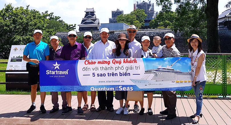 Đoàn khách trải nghiệm tour Trung - Nhật 25/08/2017