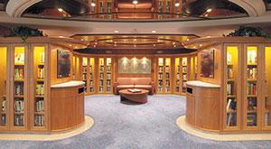 Thư viện và phòng chơi bài