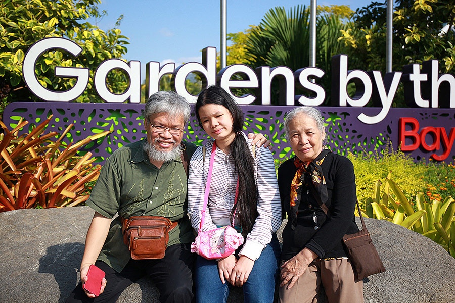 Hình khách tham quan Singapore 1