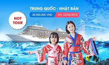 Tour Trung - Nhật  22/06/2018