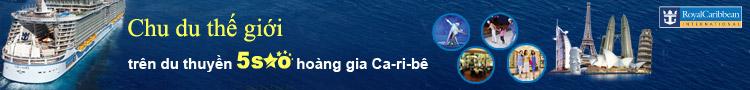 Banner top tour du thuyền 5 sao