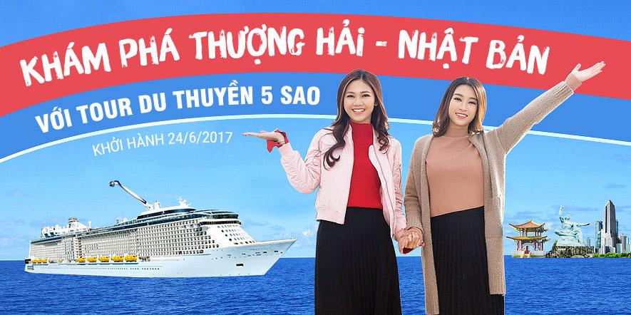 Tour khám phá Trung - Nhật