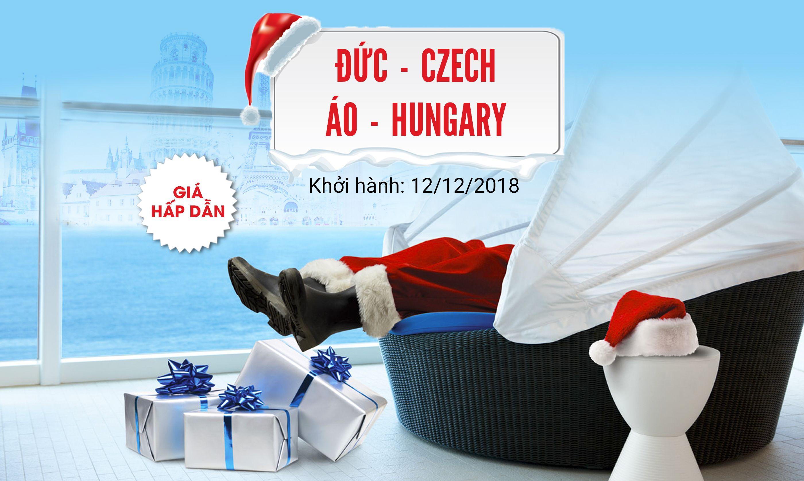 Du lịch châu Âu Đức - Czech - Áo - Hungary