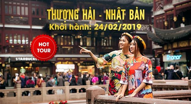 Hot Tour Thượng Hải - Nhật Bản