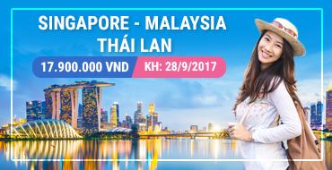 Tour Sin - Mã - Thái 28/09/2017