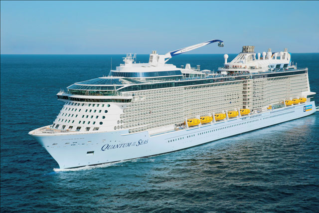 Quantum of the seas đến Việt Nam