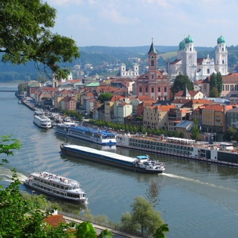 Passau, Đức - Linz, Áo