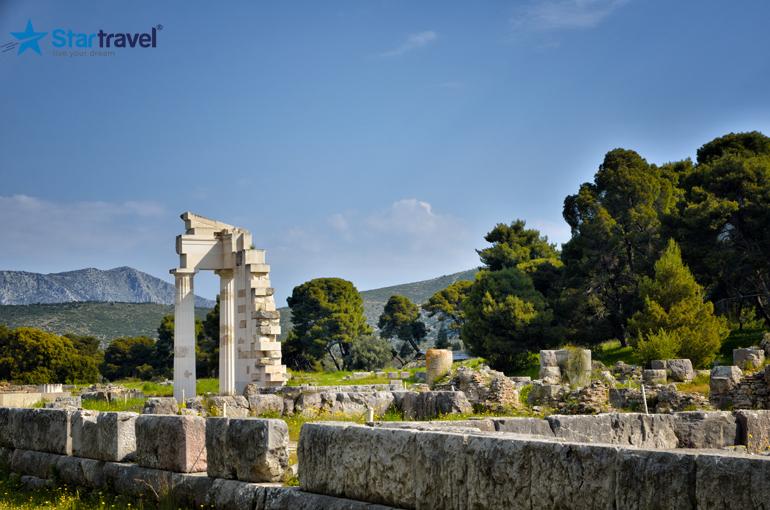 Nauplia - Epidaurus - Mycenae - Sparta