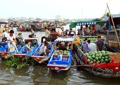 Cần Thơ - KDL Phù Sa - Chợ nổi Cái Răng
