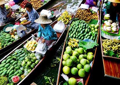 Chợ nổi Cái Bè - Cù lao An Bình - Vĩnh Long